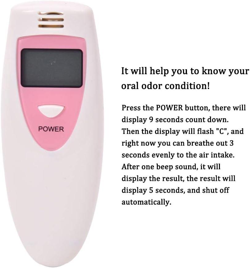 Detector port/átil de mal aliento Probador de condiciones de higiene oral Detector de mal aliento,Baugger