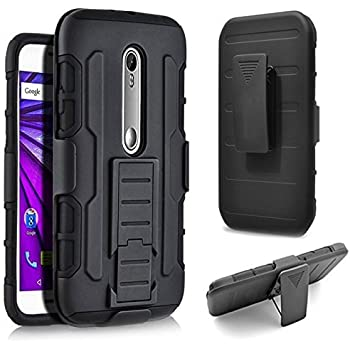 DROID Turbo 2 Case, Cimo [Armor Guard] Heavy Duty Shock Absorbing Dual Layer