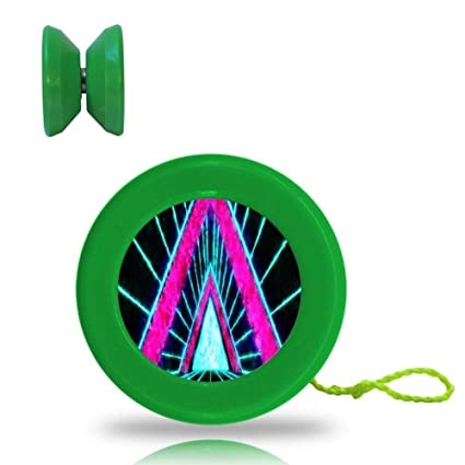 Amazon com: One of my Tidal Red Triangle Space-Time Tunnel Yo-Yo