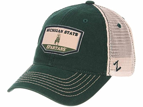 Zephyr Michigan State Spartans Trademark Beaumont Tower Mesh Adj. Hat Cap (Beaumont Tower)