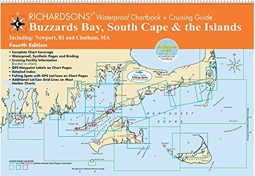 Buzzards Bay, South Cape & The Islands by Waterproof Chartbook + Cruising Guide