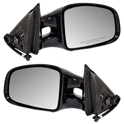 Driver and Passenger Power Side View Mirrors Smooth Replacement for Pontiac 10312053 10312052 - Prix Pontiac Grand Mirror Power