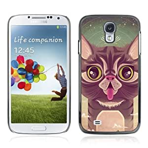 Designer Depo Hard Protection Case for Samsung Galaxy S4 / Cute Cat
