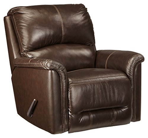Chocolate Rocker Recliner - Signature Design by Ashley 8660025 Lacotter Recliner, Chocolate