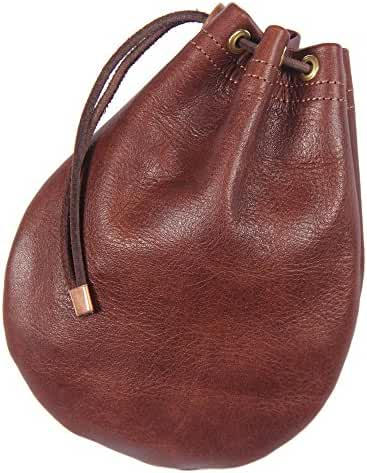 Leather Possibles Drawstring Bag Col. Littleton