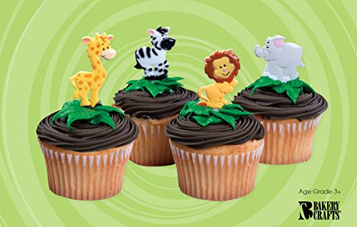 Zoo Animal Cupcake Toppers (144 toppers)