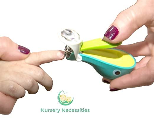 Nail Whale Baby and Child Nail Clippers
