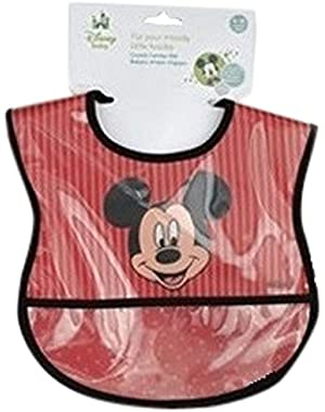 Mickey Mouse Crumbcatcher Bib