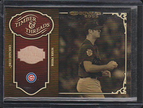 2005 Donruss Mark Prior Cubs Game Used