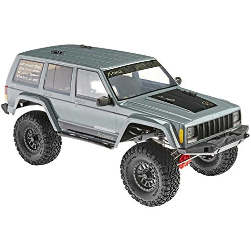 (Axial SCX10 II Jeep Cherokee 4WD RC Rock Crawler Off-Road 4x4 Electric Ready to Run with 2.4GHz Radio and Waterproof ESC, 1/10 Scale RTR )