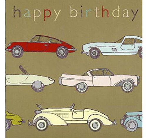 Pack de 5 tarjetas de felicitación de cumpleaños, diseño de ...