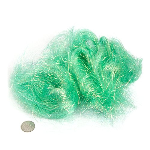 - Straight Cut Mint Sparkle Angelina Fibers