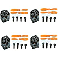 Tarot 4 Sets/Lot MT1104 4000KV Brushless Motor with Propellers TL150M1 for DIY FPV Mini 120 130 Multi-rotor RC Racing Quadcopter Drone