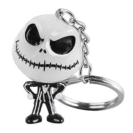 YiFeiCT. Llavero Creativo de Halloween, diseño de Calavera ...