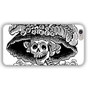 Day of the Dead Skull Skeleton Bride iPhone 6 Slim Phone Case