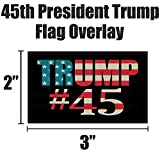 Pro Trump & American Flag Hard Hat & Helmet