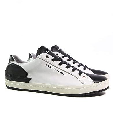 Guess College Sneaker Herren White Smog Sneaker Low: Amazon