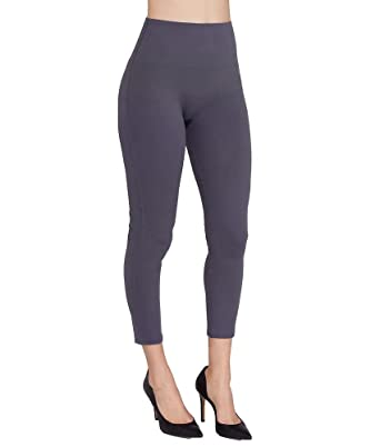 6c7caef9d6d369 SPANX Women's Cropped Essential Leggings at Amazon Women's Clothing ...