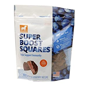 60%OFF Dogswell Super Boost Squares, Beef with Blueberry 5 oz