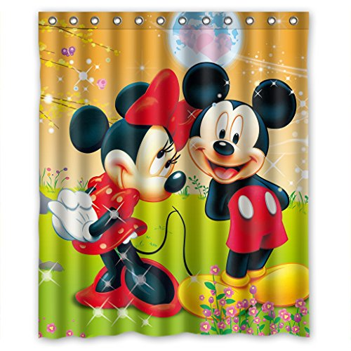 Custom Waterproof Bathroom Shower Curtain 60
