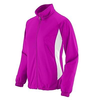Augusta Sportswear WOMEN'S MEDALIST JACKET S Power Pink/White