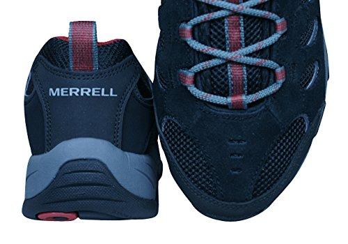 Hiking Shoes Ridgepass Black Mens Black Walking Merrell Trainers HFT1wqq