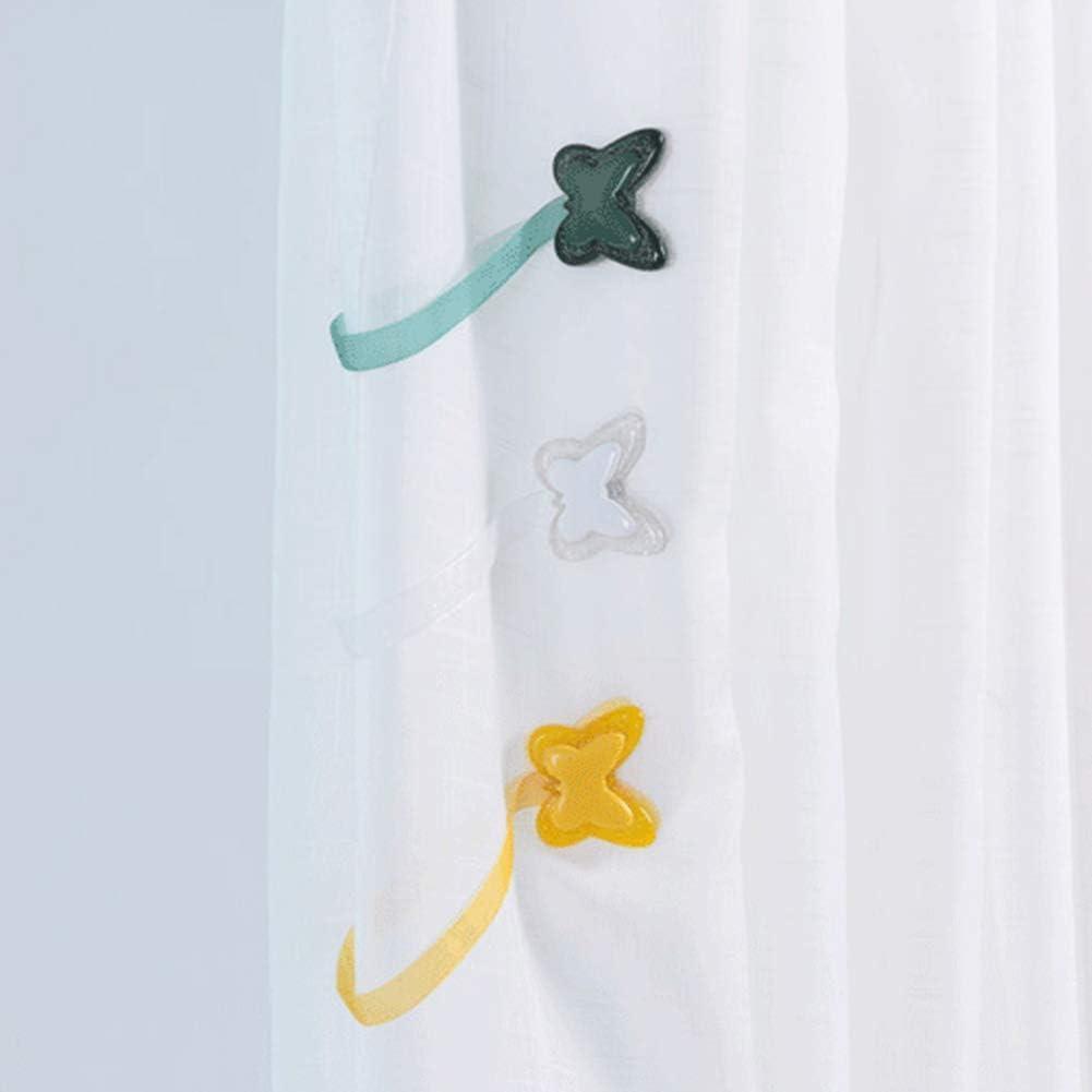 Carry stone Premium Qualit/ät Sch/öne Schmetterling Magnetische Vorhang Raffhalter Clips Vorhang Schnallen Holdbacks Home Schlafzimmer Dekor