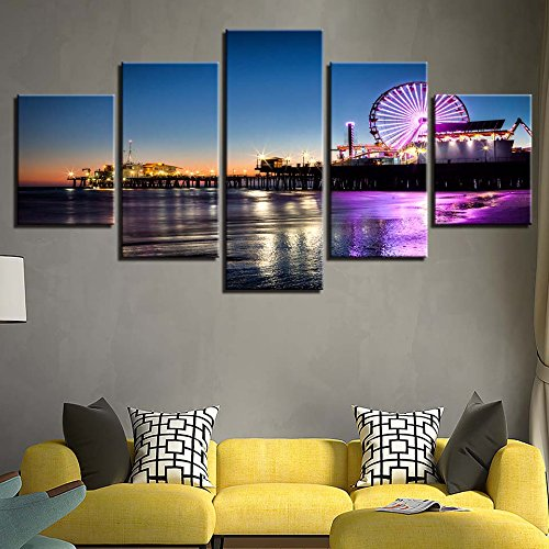 Painting Art Moderne Leinwand Einrichtung Wohnzimmer Wand 5 ...
