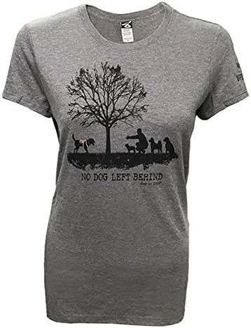 Dog is Good Women's No Dog Left Behind Shirt - Great Gift for Dog Lovers