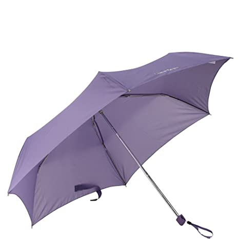 Samsonite Paraguas Bastón Lightdrop Ligero y compacto de 22 cm Púrpura (Purple Haze)