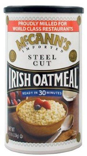 Harina de avena irlandesa de corte de acero de McCann ...
