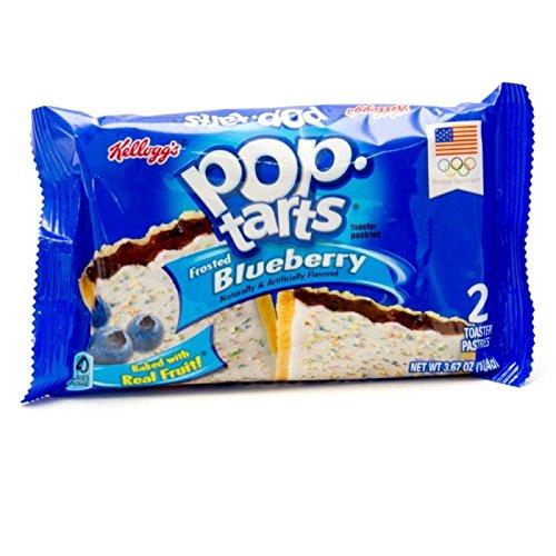 Pop Tarts, 6/BX, Blueberry