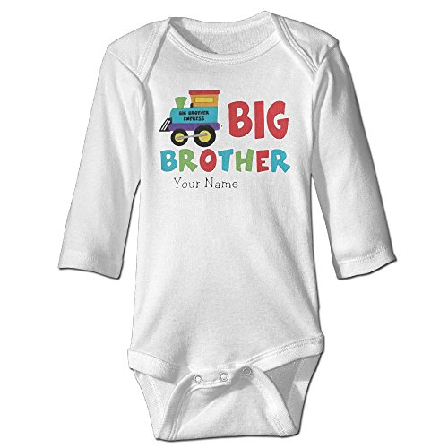 Big Brother Train Boys Long Sleeve Baby Onesies Romper (Brother Laser 8850 compare prices)