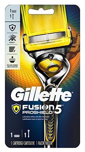 Gillette Mens Fusion 5 Proshield Razor + Cartridge (2 Pack)