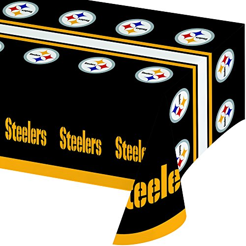 Creative Converting Officially Licensed NFL Plastic Table Cover,