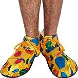 Multicolore à pois surdimensionné Clown Shoes - Parties Déguisements - Clowns