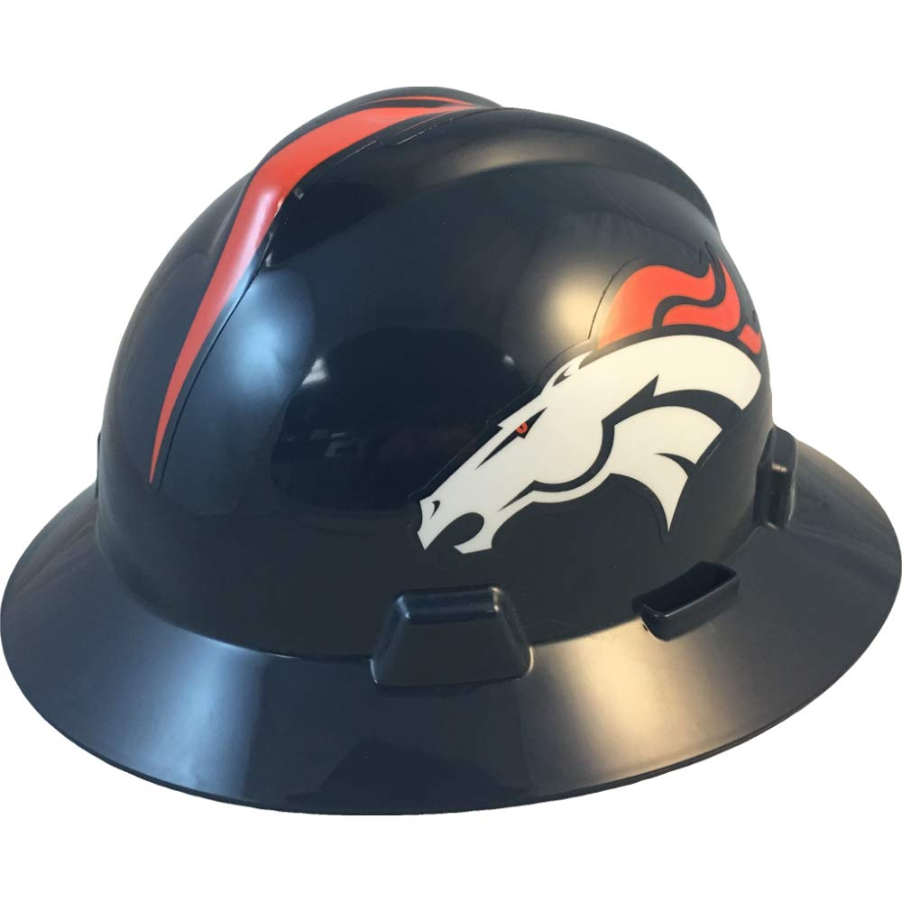NFL V-Gard Full Brim Hard Hat, Denver Broncos by MSA