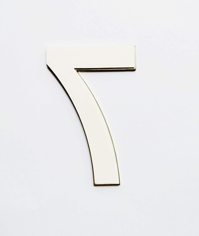 Nanly n/úmeros de casa de acero inoxidable adhesivo hecho de acero inoxidable 304 s/ólido aspecto flotante altura 7,5 cm//3 pulgadas number 6//9
