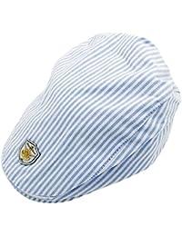 Kids Newsboy Cap Cotton Sun Hat Strip Hat