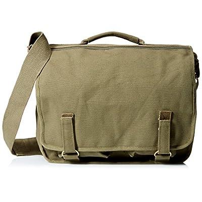 chic Olive Drab Danish European School Shoulder Messenger Bag ... 21f43056b448a