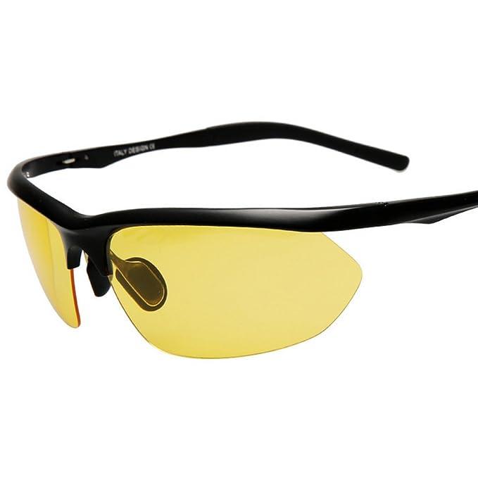 Kennifer Gafas de sol de los Hombres Polarizada Rectangular de Conducción de Pesca de Senderismo de