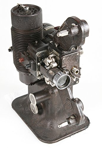 ART DECO VINTAGE MOVIE PROJECTOR IN ORIGINAL CASE STEAMPUNK, DISPLAY ONLY from Bell + Howell