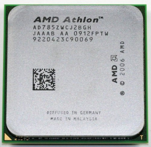 - AMD Athlon 64 X2 7850 Kuma 2.8GHz 2 x 512KB L2 Cache 2MB L3 Cache Socket AM2+ 95W Dual-Core black edition Processor