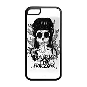 Fashion Bring Me to The Horizon Personalized iPhone 4s Rubber Gel Silicone Case Cover