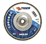 Weiler 50543 Tiger Abrasive Flap Disc, Type