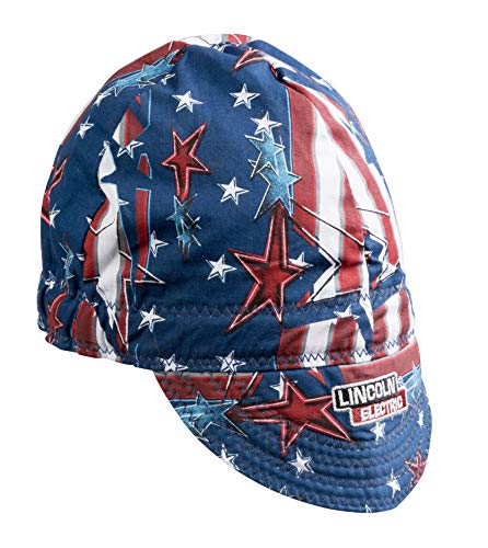 - Lincoln Electric Welding Cap| Mesh Inside Liner | All American Print |K3203-ALL
