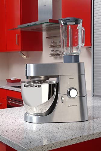 Kenwood Robot de cocina KMM060, 1500 W, 6.7 litros, Acero ...