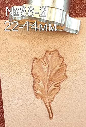Acorn Leather Crafting Stamp Tool for Leather Crafts Brass #88Set by DandS ltd (Image #4)