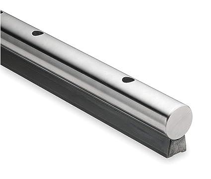 Thomson Support Rail, Steel, 1 250 In D, 48 In - LSRA20L48