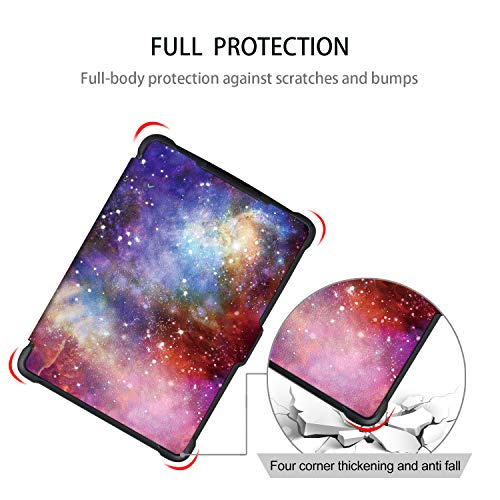 Case for Kindle Paperwhite -Premium Thinnest and Lightest PU Leather Cover with Auto Wake/Sleep for Amazon All-New Kindle Paperwhite (Fits 2012, 2013, 2015 Versions), Nebula Galaxy by Genetic. (Image #6)